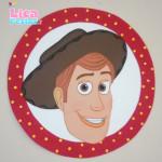 Aplique de parede Woody Toy Story
