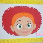 Aplique de parede Jessie Toy Story