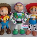 Woody, Buzz e Jessie Toy Story