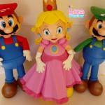 Mario, Luigi e Peach 50 cm