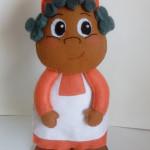 Tia Anastácia 25 cm Feltro