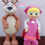 Menininha e o Urso 50 cm