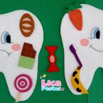 Dentes 35 cm