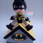 Cofrinho MDF e EVA Batman