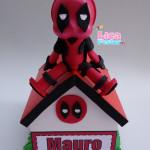 Cofrinho MDF e EVA Deadpool