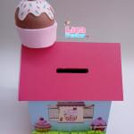 Cofrinho MDF e EVA Cupcake