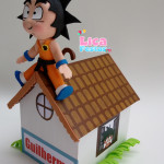 Cofrinho MDF e EVA Dragon Ball