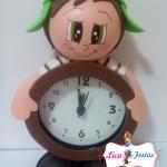 Relógio decorado Chaves