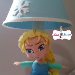Abajur Elsa Frozen