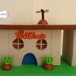 Casa Flintstones 20 cm