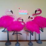 Flamingos 25 cm e 35 cm