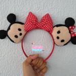 Orelhinhas Disney Mickey e Minnie