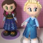 Elsa e Anna Frozen 25 cm