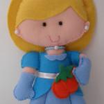 Princesa Cinderela 15 cm