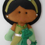 Princesa Tiana 15 cm