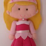 Princesa Aurora Bela adormecida 15 cm