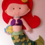 Princesa Ariel 15 cm