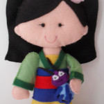 Princesa Mulan 15 cm