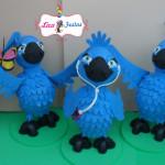 Família Blu Rio 25 cm