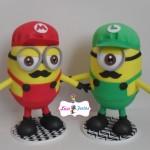 Minions Mario e Luigi 25 cm
